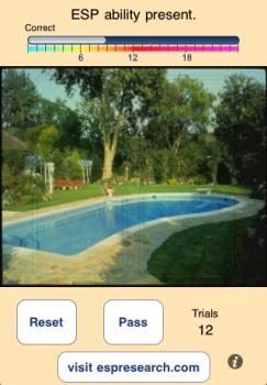 ESP is Present - an ESP Trainer screenshot